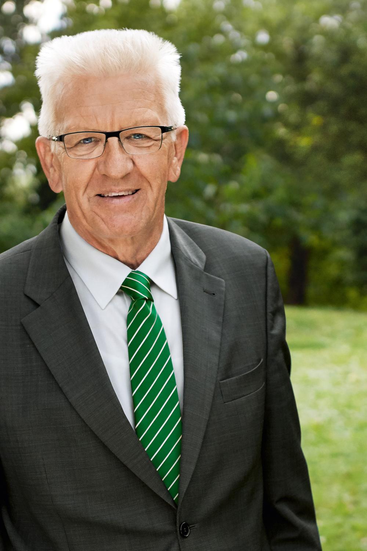 Winfried Kretschmann - Ihr Ministerpräsident für Baden-Württemberg