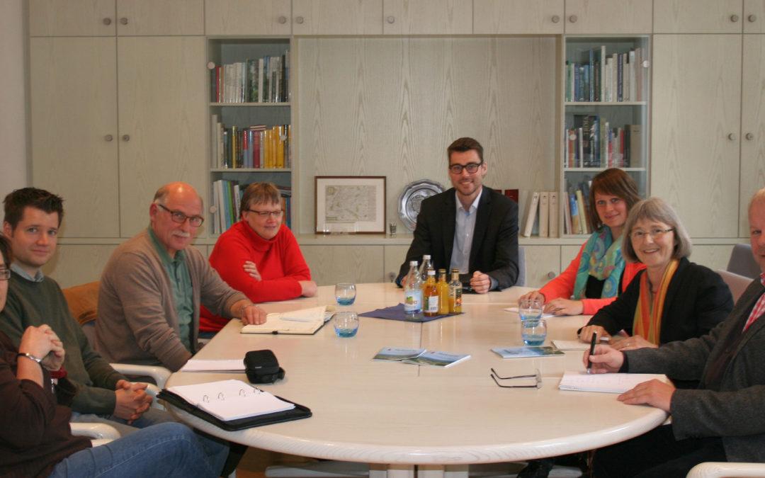 Tour de Rathaus geht weiter: Gespräch im Rathaus Neuenbürg
