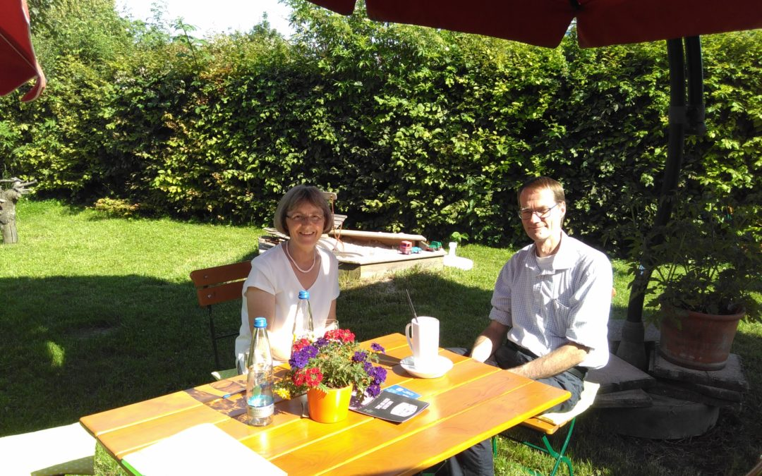 Besuch auf dem Auenhof in Neulingen-Bauschlott