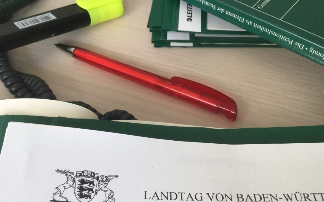 Bürgersprechstunde des Petitionsausschusses Montag, 5. Februar 2018, 13:00 bis 17:00 Uhr in Heidelberg