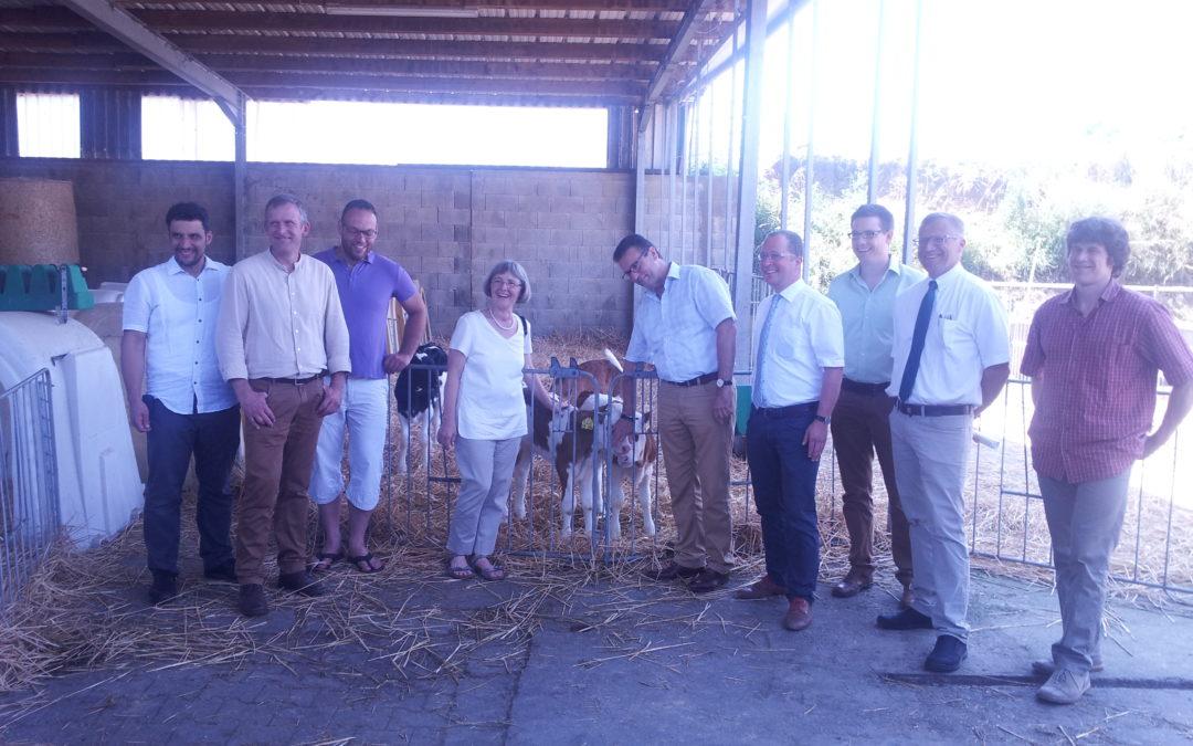 Besuch beim Sonnenhof mit Landwirtschaftsminister Hauk und der Arbeitsgemeinschaft Ökologischer Landbau
