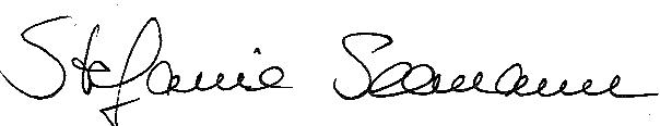 Unterschrift Stefanie Seemann