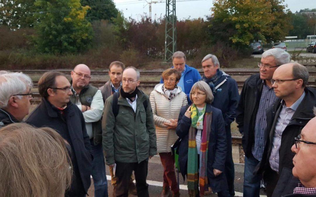 """Meine Veranstaltung mit Matthias Gastel MdB: """"Großer Bahnhof"""" in Remchingen"""