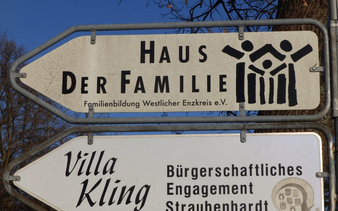 Besuch beim Haus der Familie in Straubenhardt