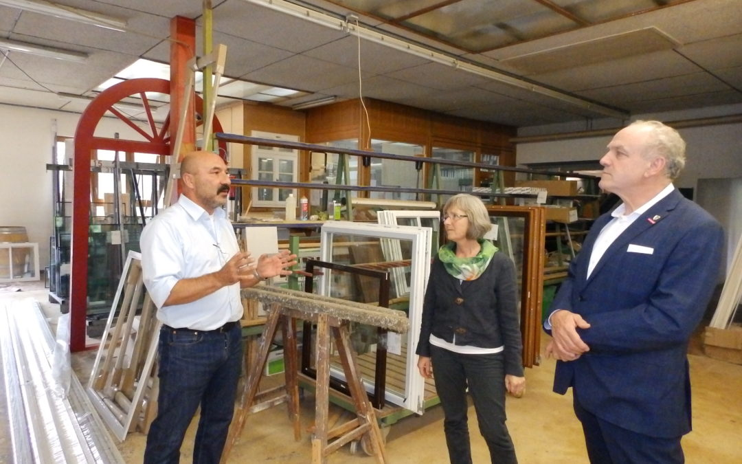 Besuch bei Common Fensterbau in Maulbronn