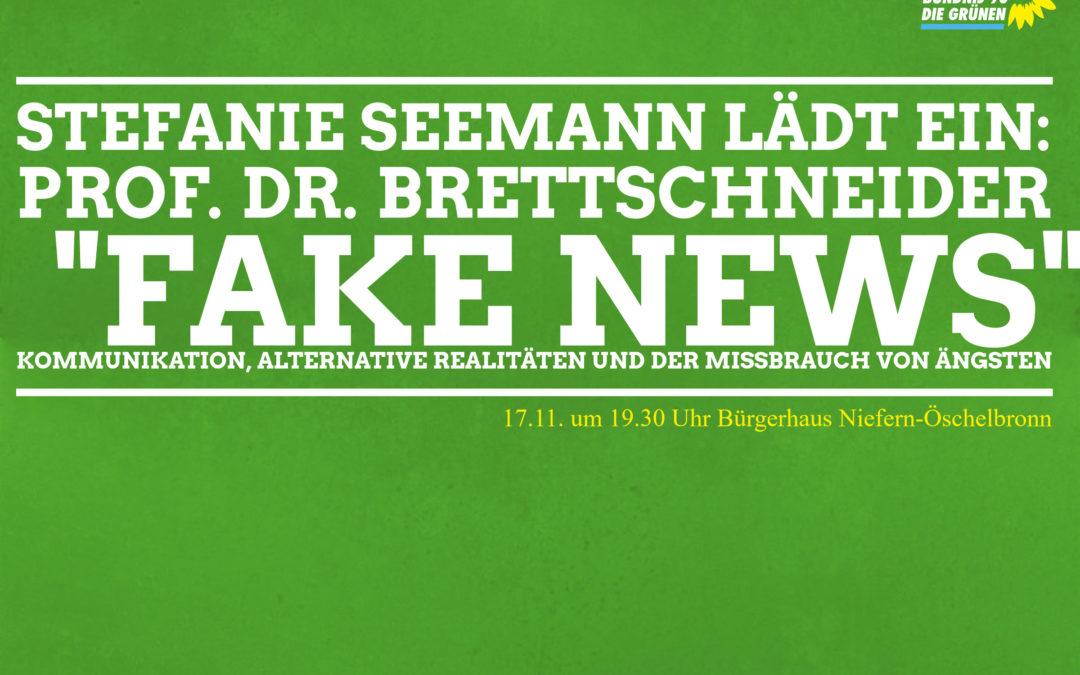 """Zeitfragen: Herzliche Einladung zu """"FakeNews"""""""
