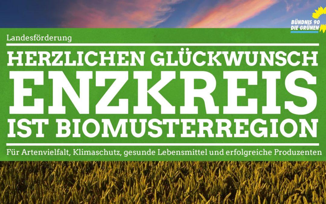 Herzlichen Glückwunsch: Enzkreis ist Bio-Musterregion!
