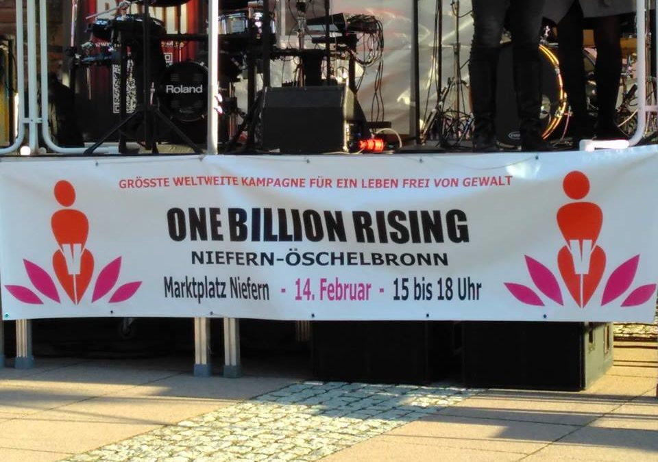 One Billion Rising in Niefern-Öschelbronn