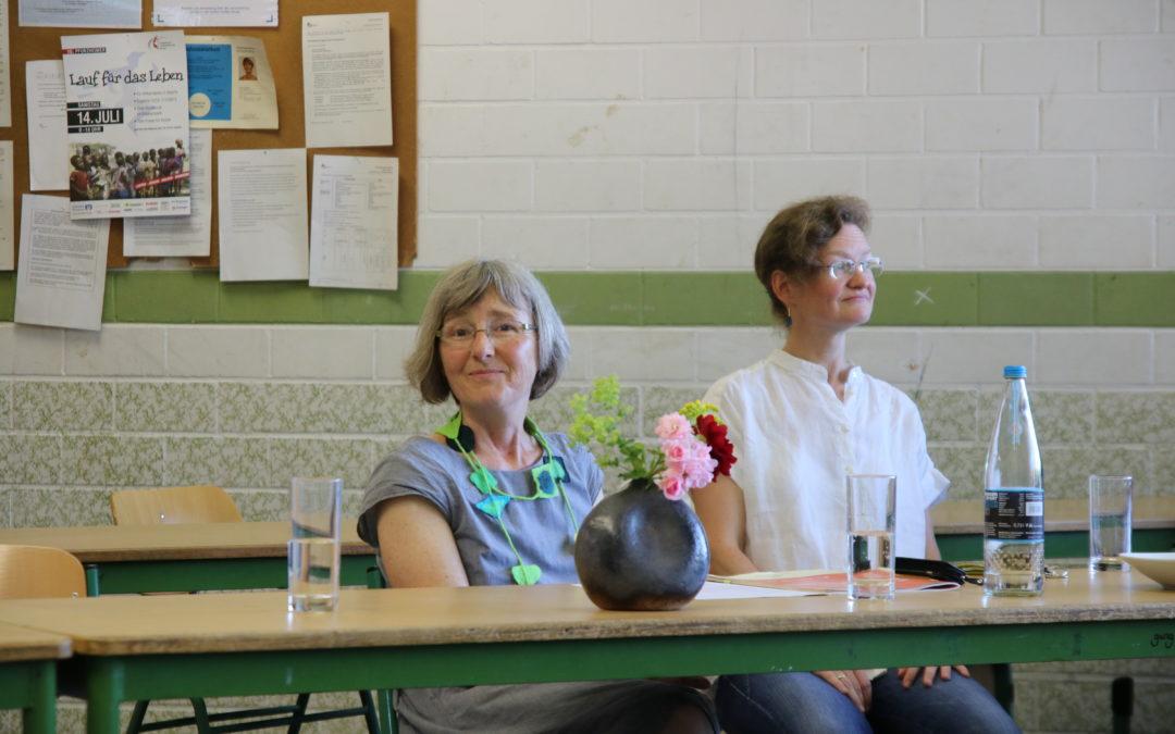 Besuch an der Fritz-Erler-Schule