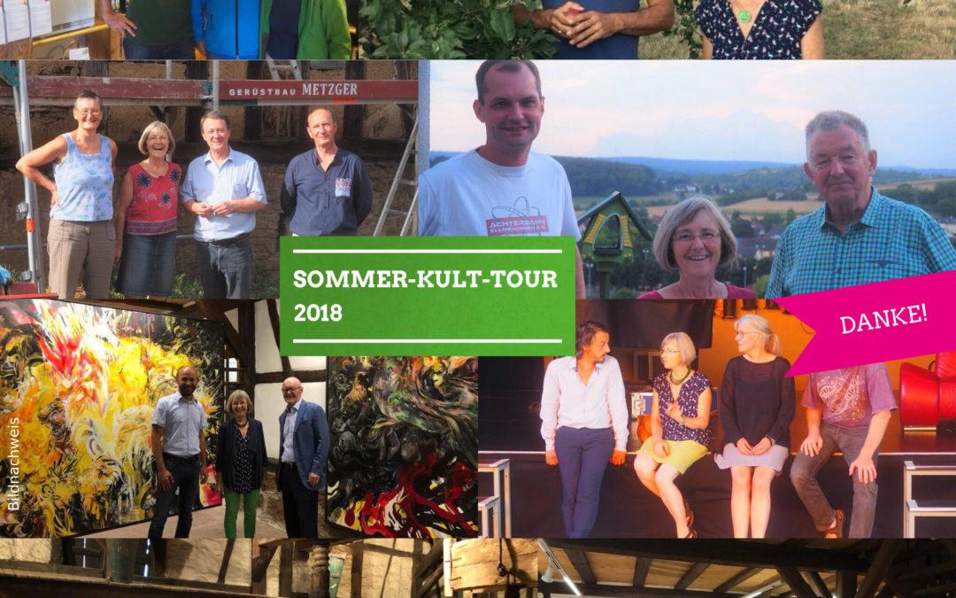 Bilanz Sommer-Kult-Tour