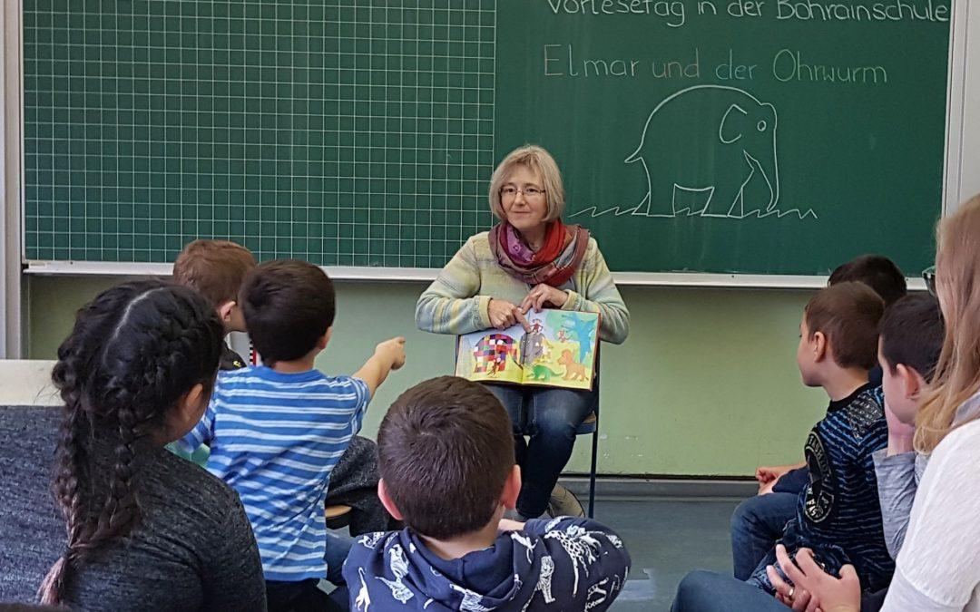 Vorlesetag in Inklusions- und Förderklasse
