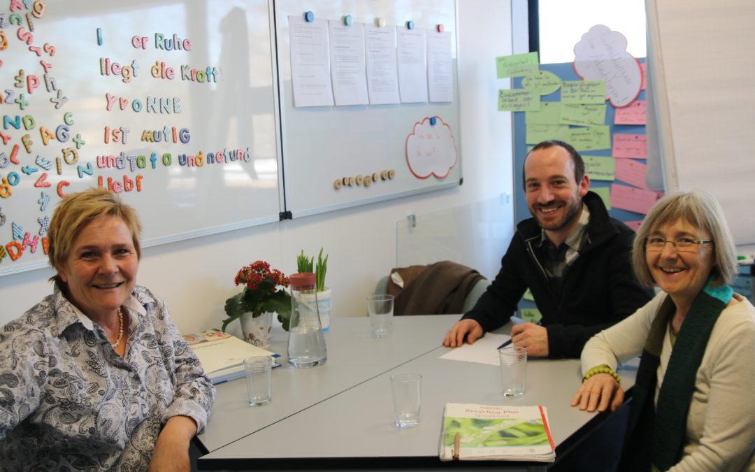 Seemann besucht Pestalozzischule: Lobbyisten für ihre Schülerinnen und Schüler