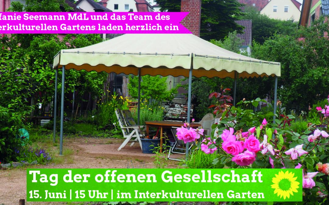 Herzliche Einladung: Tag der offenen Gesellschaft am 15. Juni