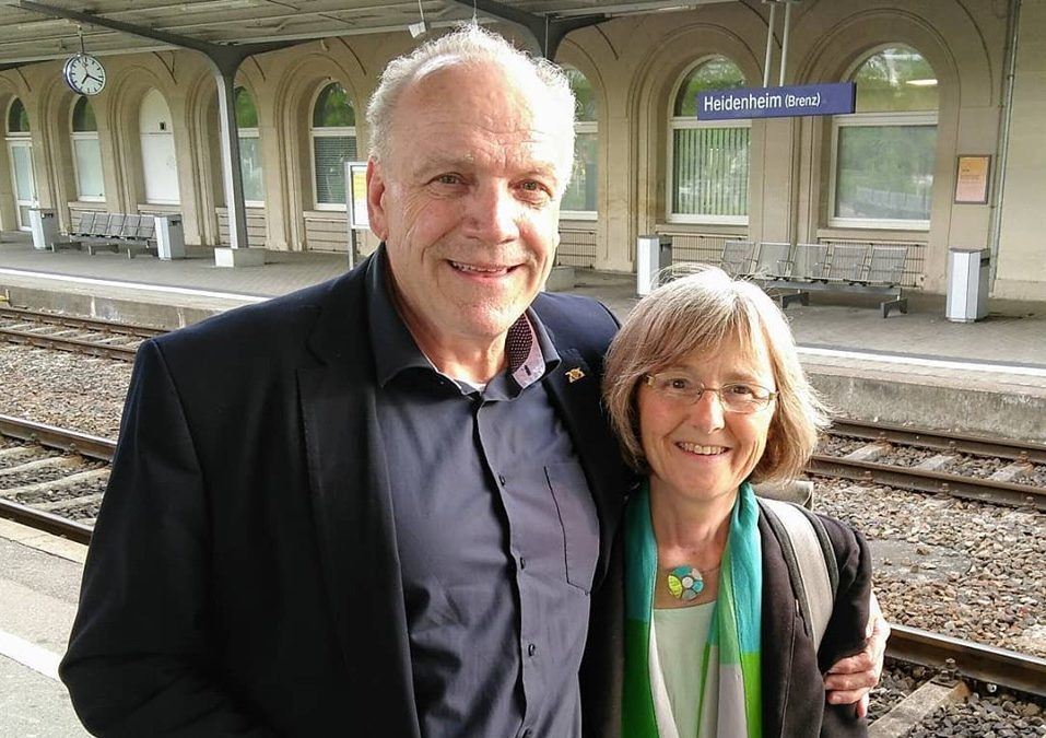 Besuch im Wahlkreis Heidenheim bei Martin Grath MdL