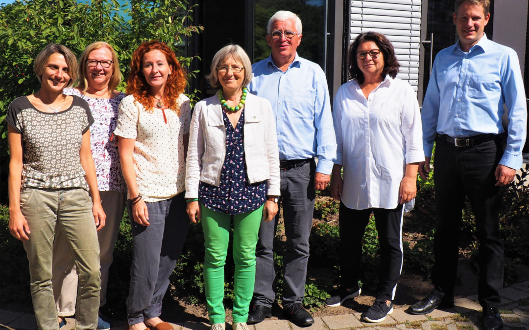 Pflege mittendrin – MdL Seemann besucht die Diakoniestation Remchingen
