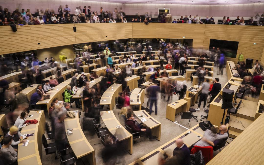 Stefanie Seemann lädt zum Landtagsbesuch