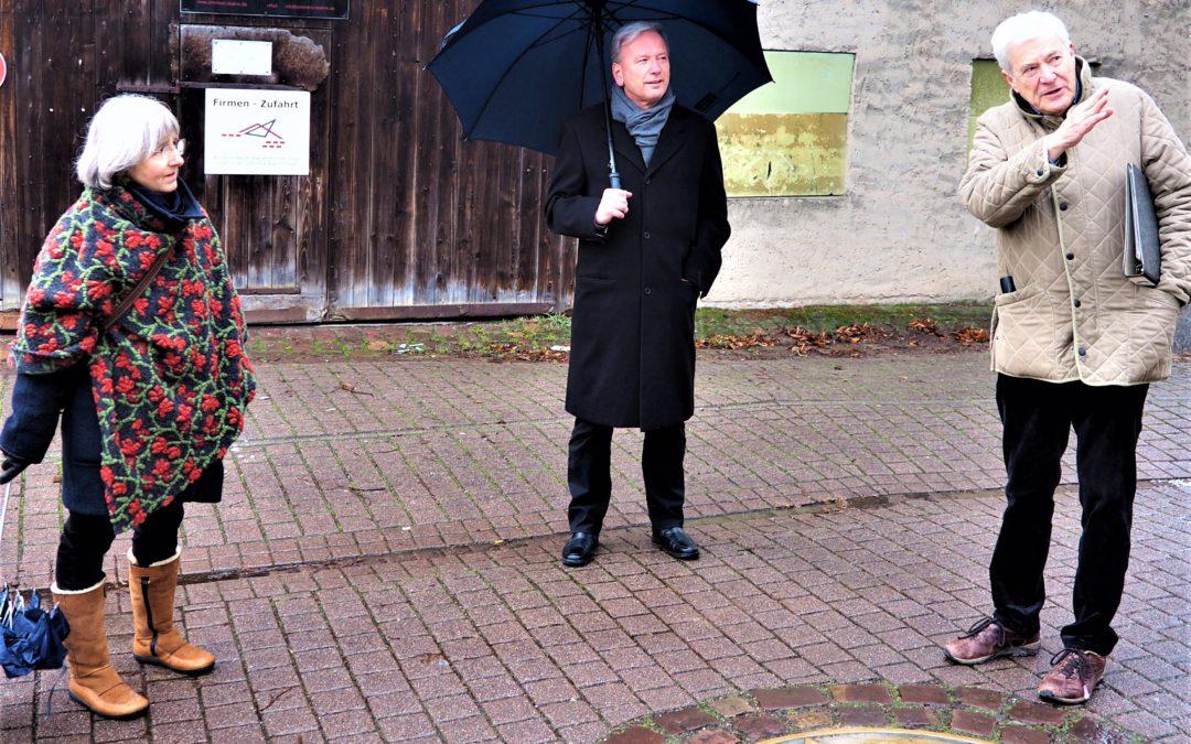 Gegen das Vergessen – Besuch in Königsbach-Stein